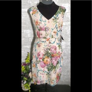 Arianna Papell Floral A-Line Dress Size 10P